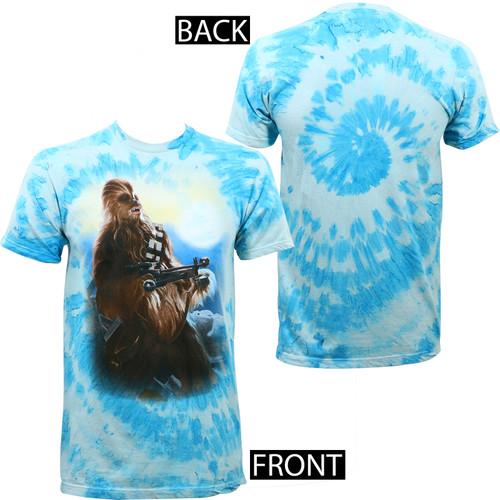 Star Wars Blue Sky Chew Tie Dye T-Shirt