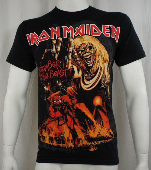 Iron Maiden T-Shirt - 666 The Number Of The Beast