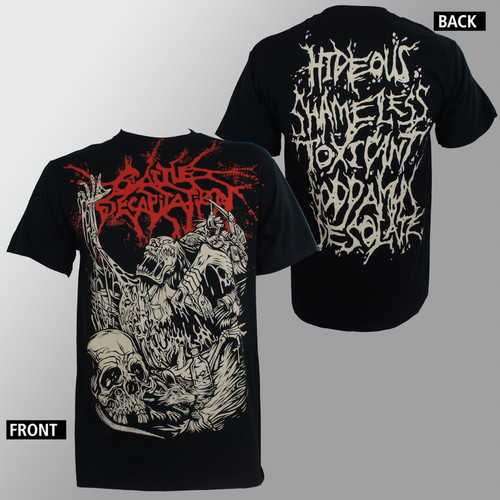 Cattle Decapitation T-Shirt - Alone At The Landfill