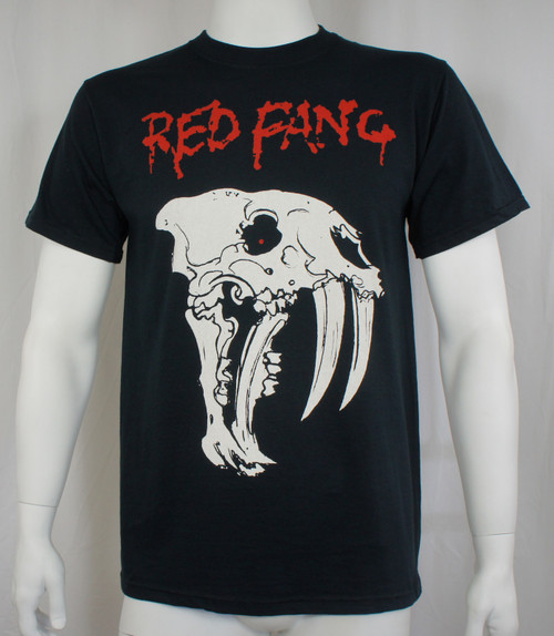 Red Fang T-Shirt - Prehistoric Dog