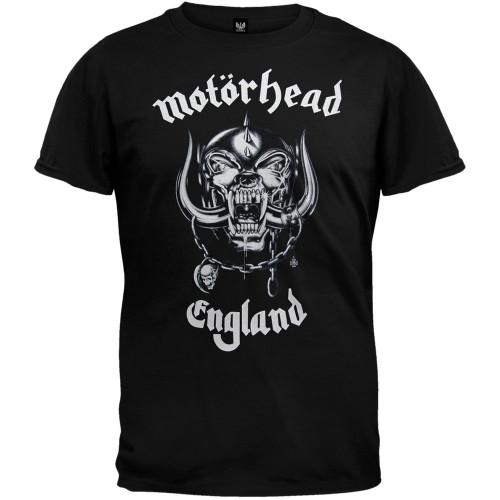 Motorhead Men's War Pig England Logo T-Shirt