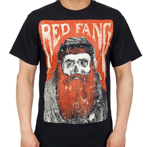 Red Fang Bearded Skull T-Shirt