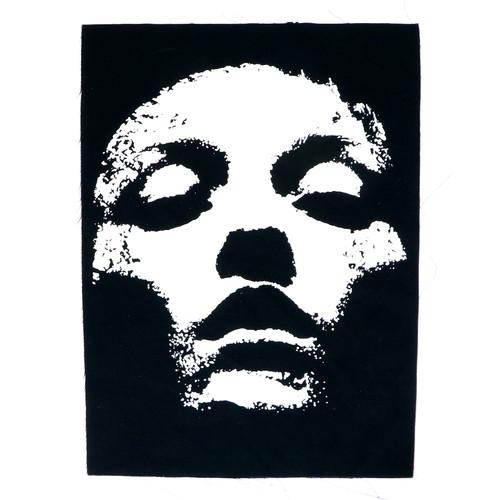 Converge Back Patch - Jane Doe Face Logo