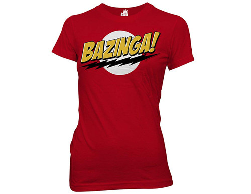 Big Bang Theory T-Shirt Girls - Bazinga
