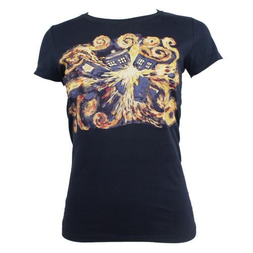Doctor Who Juniors Van Gogh Pandorica Opens T-Shirt