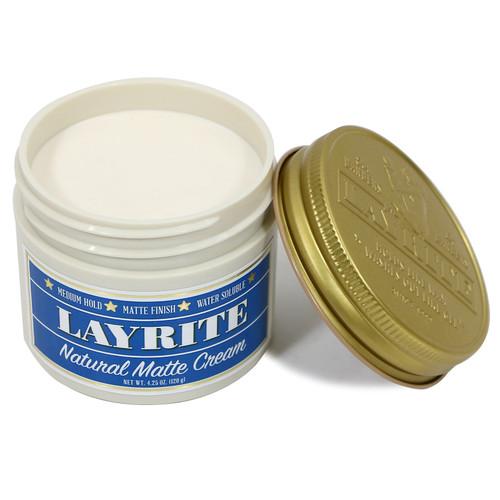 Layrite Natural Matte Cream Pomade 4.25 oz.
