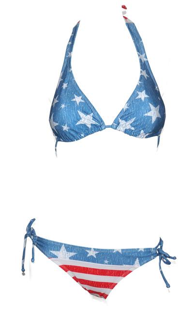 USA Distressed Bikini