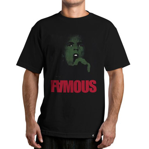 Famous Stars & Straps Vicious T-Shirt Black