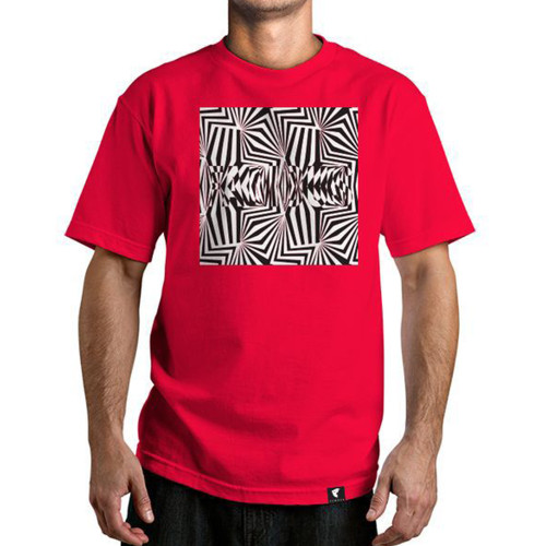 Famous Stars & Straps Visions T-Shirt Red