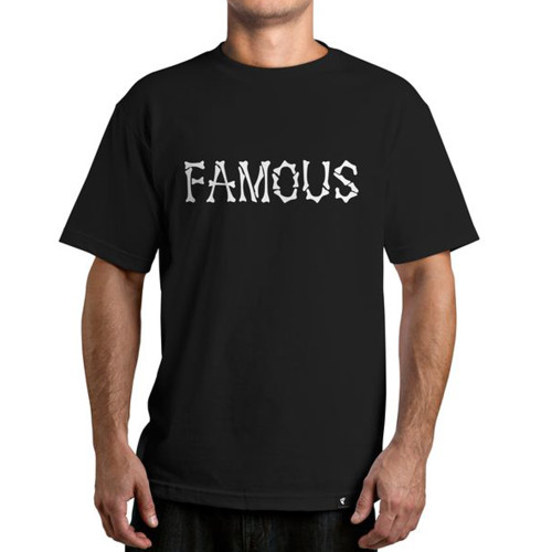 Famous Stars & Straps The Remains T-Shirt Black