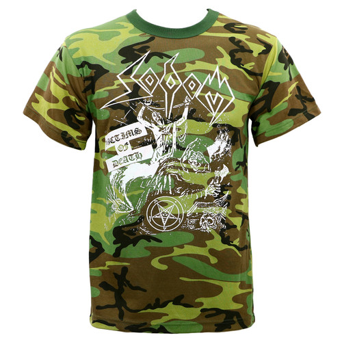 Sodom Victims of Death Camo T-Shirt