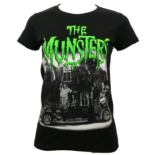 Universal The Munsters Juniors Family Coach T-Shirt
