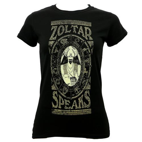 Zoltar Speaks Juniors Calendar T-Shirt