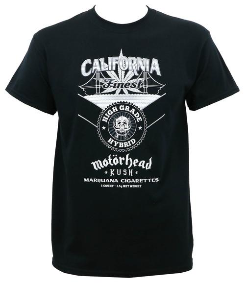 Motorhead Kush California Finest T-Shirt Black