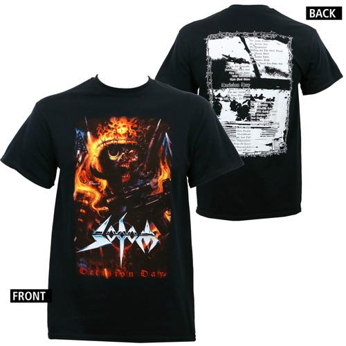 Sodom Decision Day Album Cover T-Shirt