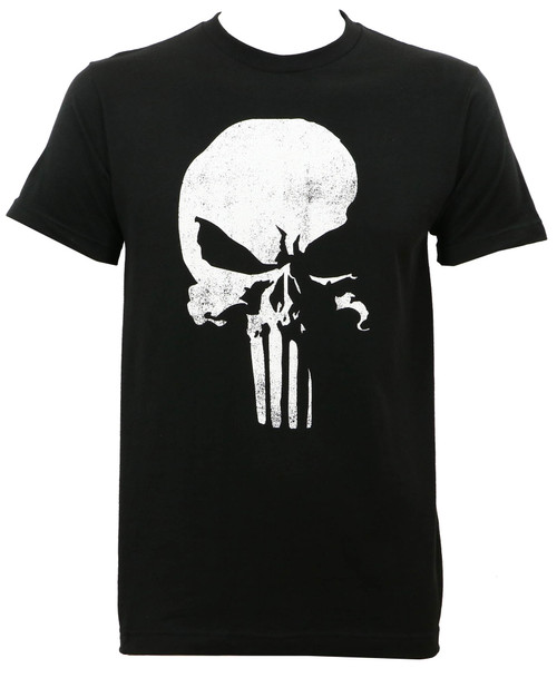 Daredevil Punisher Logo Slim Fit T-Shirt