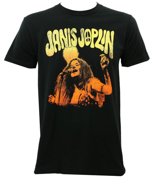Janis Joplin Live Slim-Fit T-Shirt