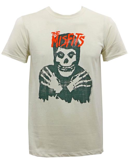 Misfits Classic Skull Slim-Fit T-Shirt Vintage White
