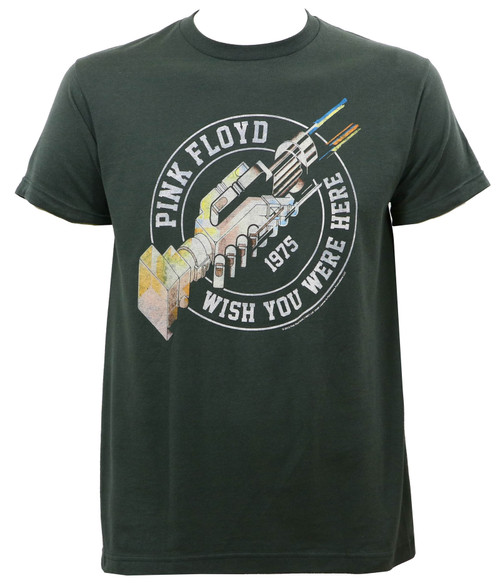 Pink Floyd Wish You Were Here '75 Slim Fit T-Shirt