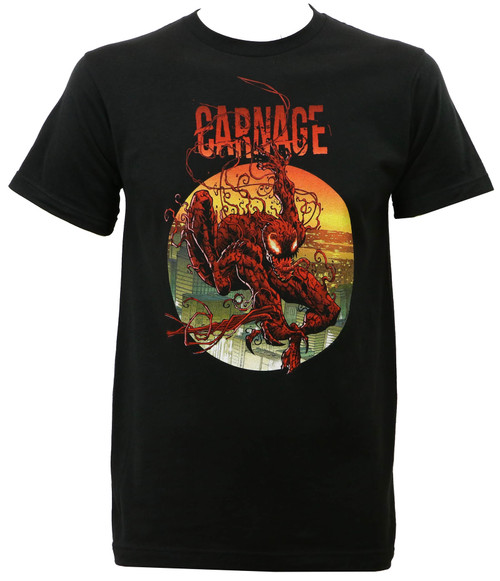 Marvel Comics Carnage Climbing Out Slim-Fit T-Shirt