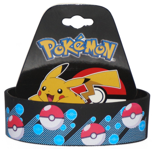 Pokemon Blue Pokeballs Bracelet