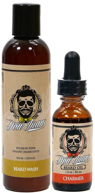 Don Juan Beard Wash & Oil Charmer Essential Kit
