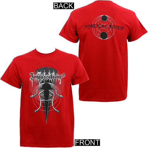 Inquisition Mystical Blood T-Shirt Red