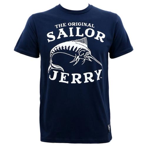 Sailor Jerry SJ Marlin Fish T-Shirt
