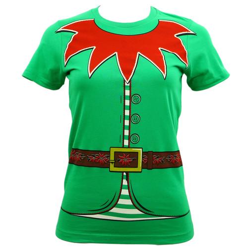 Impact Originals Juniors Elf Santa's Helper Costume T-Shirt