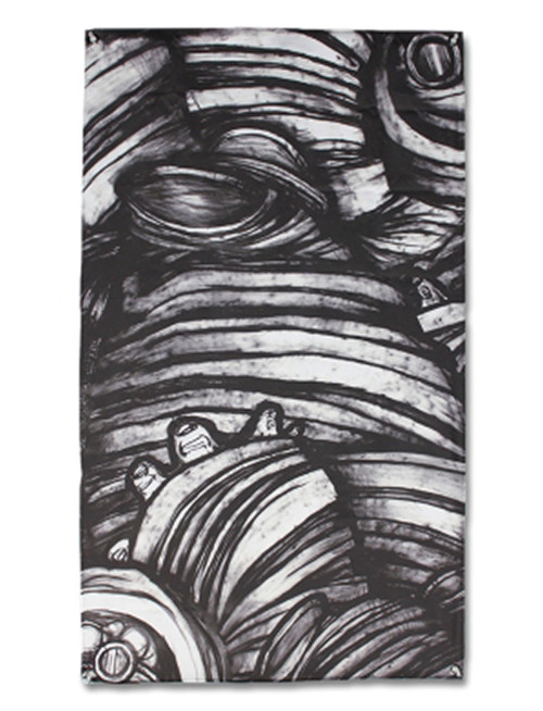 Converge Caring and Killing Fabric Poster