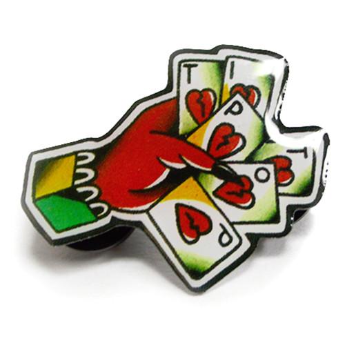 Tip Top Industries Cards Metal Pin