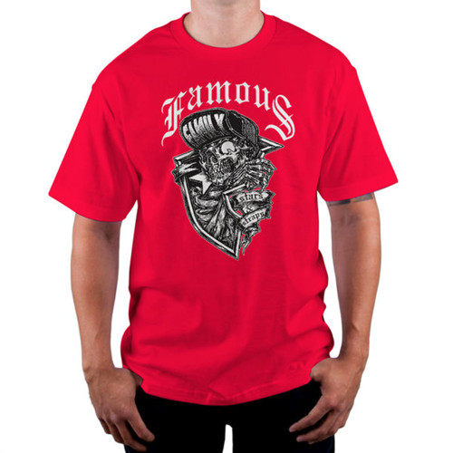 Famous Stars & Straps Creeper T-Shirt Red