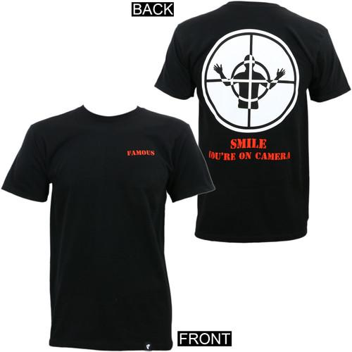 Famous Stars & Straps Smile T-Shirt Black