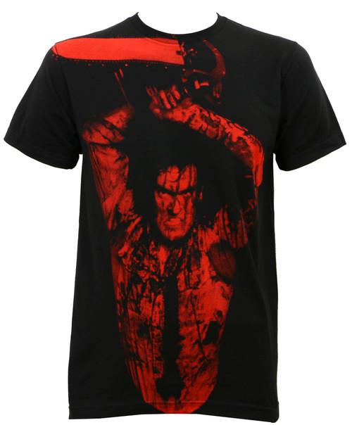 Evil Dead 2 Ash Williams Subway Slim-Fit T-Shirt