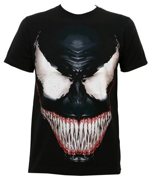 Marvel Venom Sinister Smile Subway Slim-Fit T-Shirt
