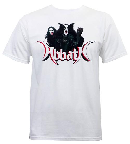 Abbath Band Photo T-Shirt White
