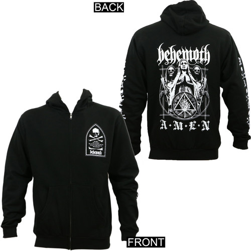 Behemoth Amen Zip-Up Hoodie