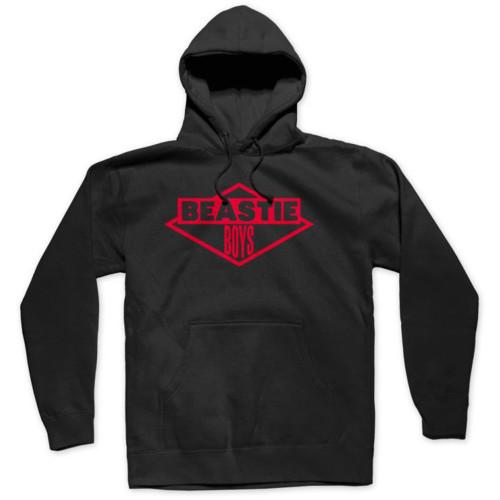 Beastie Boys Red Ink Logo Slim-Fit Pullover Hoodie