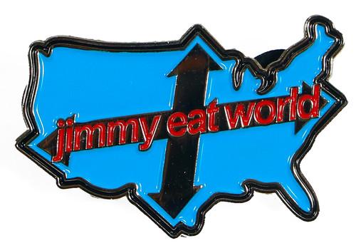 Jimmy Eat World Across America Enamel Pin
