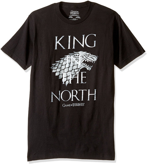 Game Of Thrones The King In The North T-Shirt
