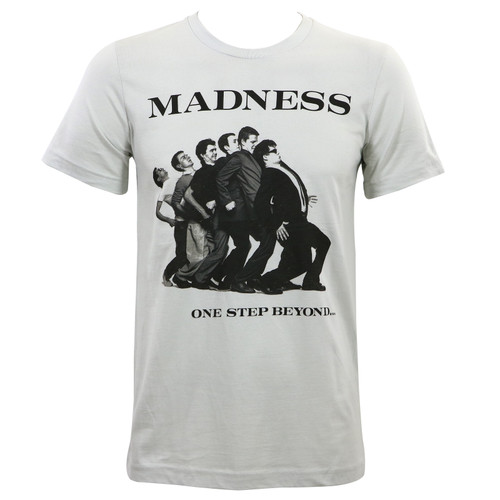 Madness One Step Beyond Album Cover Slim Fit T-Shirt