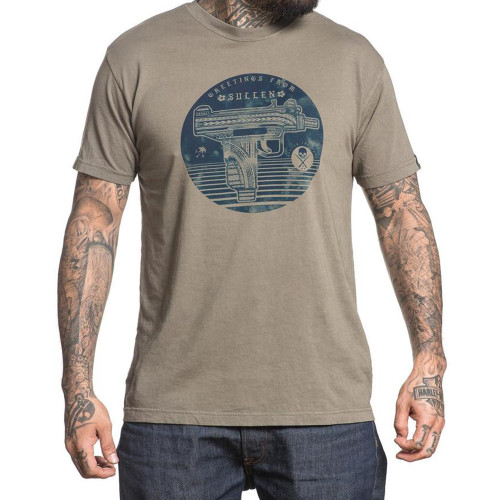 Sullen Greetings From Choloha Capsule T-Shirt Olive