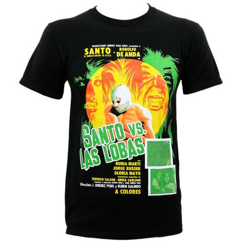 Santo Vs. Las Lobas Slim-Fit T-Shirt