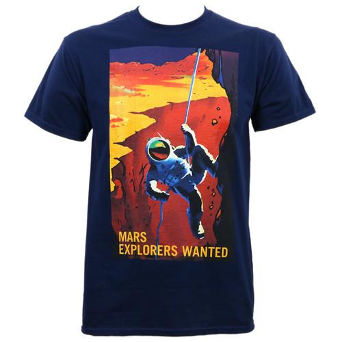 Nasa Astro Climber T-Shirt Navy