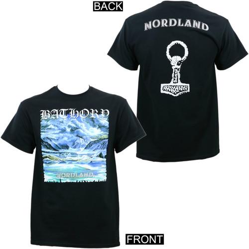 Bathory Nordland Album Cover T-Shirt
