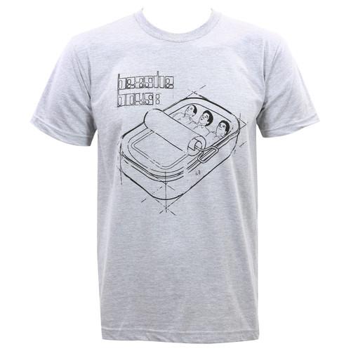 Beastie Boys Sardine Blueprint Slim-Fit T-Shirt Heather Gray