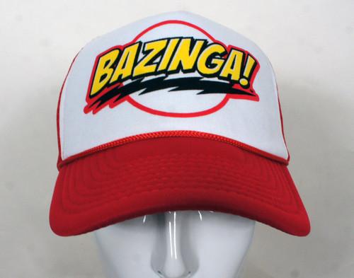 Big Bang Theory Trucker Hats - Bazinga Logo