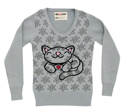 Big Bang Theory Knit Sweater Girls - Soft Kitty