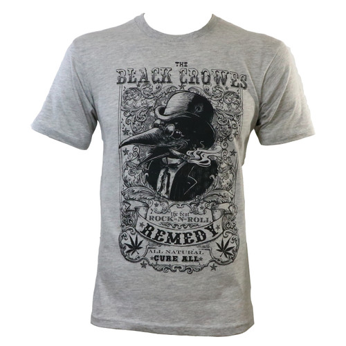 The Black Crowes Remedy Slim-Fit T-Shirt Grey