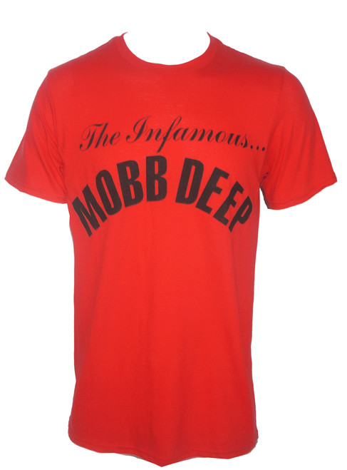 Mobb Deep Infamous Red T-Shirt